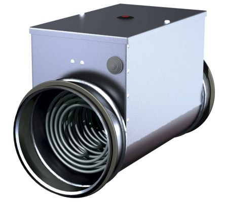 eka nis 100-0,3-1f электрический канальный нагреватель salda EKA NIS 100-0,3-1f