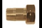 VSR-1/2 Резьбовое соединение с муфтой и прокладкой (1 шт.)